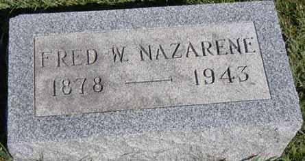 NAZARENE, FRED W - Dallas County, Iowa | FRED W NAZARENE