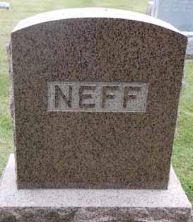 NEFF, FAMILY STONE - Dallas County, Iowa   FAMILY STONE NEFF