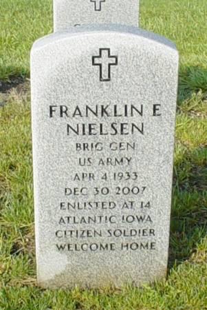 NIELSEN, FRANKLIN E. - Dallas County, Iowa | FRANKLIN E. NIELSEN