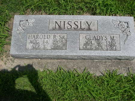 NISSLY, HAROLD R. SR. - Dallas County, Iowa | HAROLD R. SR. NISSLY