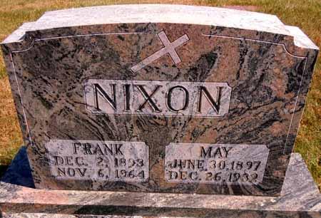 NIXON, MAY - Dallas County, Iowa   MAY NIXON