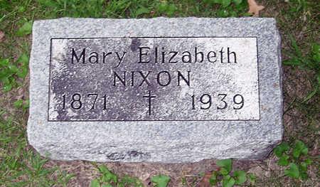 NIXON, MARY ELIZABETH - Dallas County, Iowa | MARY ELIZABETH NIXON
