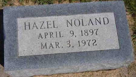 NOLAND, HAZEL - Dallas County, Iowa   HAZEL NOLAND