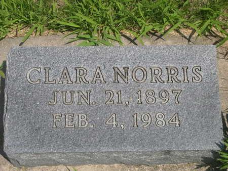 NORRIS, CLARA - Dallas County, Iowa   CLARA NORRIS