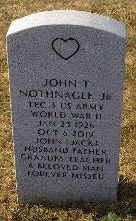 NOTHNAGLE, JOHN T JR - Dallas County, Iowa   JOHN T JR NOTHNAGLE