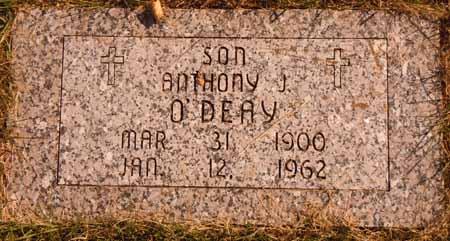 O'DEAY, ANTHONY J. - Dallas County, Iowa   ANTHONY J. O'DEAY