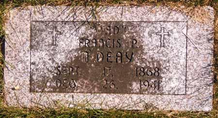 O'DEAY, FRANCIS P. - Dallas County, Iowa | FRANCIS P. O'DEAY