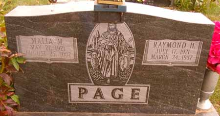 PAGE, RAYMOND H. - Dallas County, Iowa | RAYMOND H. PAGE