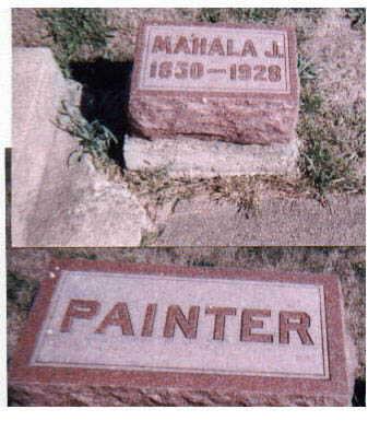 PAINTER, MAHALA - Dallas County, Iowa | MAHALA PAINTER