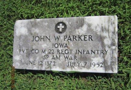 PARKER, JOHN W - Dallas County, Iowa   JOHN W PARKER