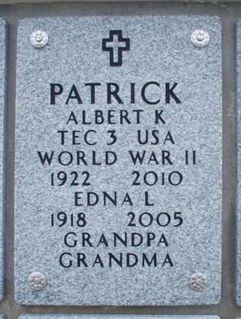 PATRICK, EDNA L. - Dallas County, Iowa | EDNA L. PATRICK