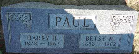 PAUL, BETSY M - Dallas County, Iowa   BETSY M PAUL