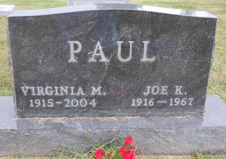 PAUL, VIRGINIA M - Dallas County, Iowa | VIRGINIA M PAUL