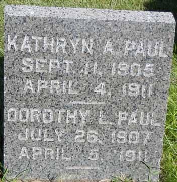 PAUL, DOROTHY L - Dallas County, Iowa | DOROTHY L PAUL