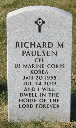 PAULSEN, RICHARD M - Dallas County, Iowa | RICHARD M PAULSEN