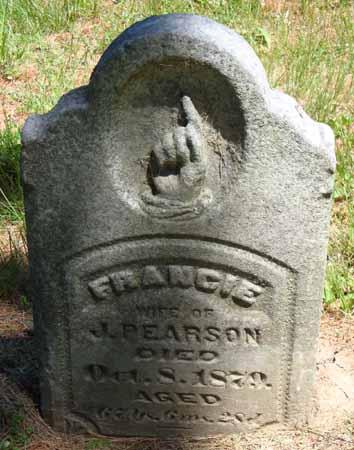 PEARSON, FRANCIE - Dallas County, Iowa | FRANCIE PEARSON