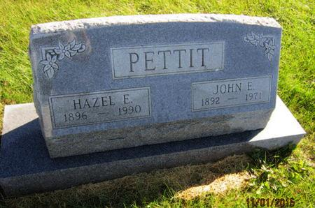 PETTIT, HAZEL E - Dallas County, Iowa | HAZEL E PETTIT