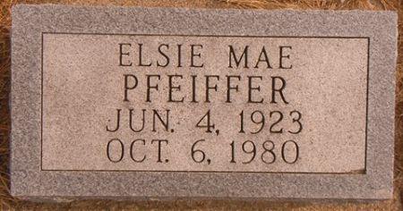 PFEIFFER, ELSIE MAE - Dallas County, Iowa | ELSIE MAE PFEIFFER