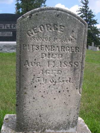 PITSENBARGER, GEORGE L. - Dallas County, Iowa | GEORGE L. PITSENBARGER