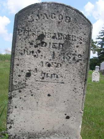 PITSENBARGER, JACOB SR. - Dallas County, Iowa | JACOB SR. PITSENBARGER