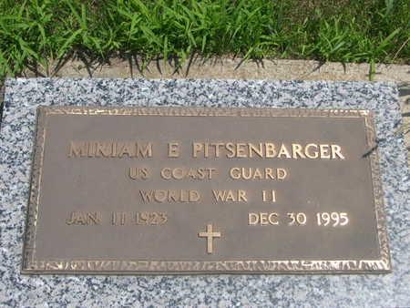 PITSENBARGER, MIRIAM - Dallas County, Iowa   MIRIAM PITSENBARGER