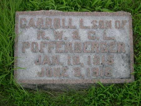 POFFENBERGER, CARROLL L. - Dallas County, Iowa   CARROLL L. POFFENBERGER