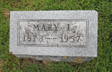 POINDEXTER, MARY I - Dallas County, Iowa | MARY I POINDEXTER