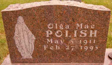 POLISH, OLGA MAE - Dallas County, Iowa | OLGA MAE POLISH