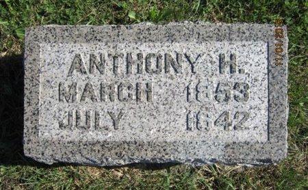 PORTER, ANTHONY H - Dallas County, Iowa | ANTHONY H PORTER