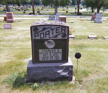 PORTER, CHARLES R - Dallas County, Iowa | CHARLES R PORTER