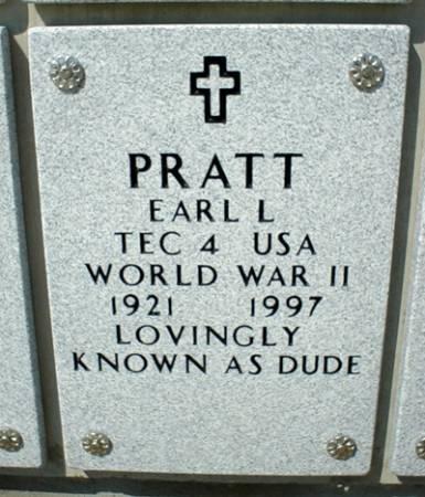 PRATT, EARL L. - Dallas County, Iowa   EARL L. PRATT