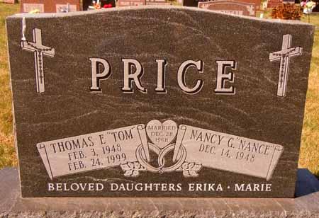 PRICE, THOMAS E. - Dallas County, Iowa   THOMAS E. PRICE