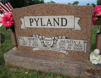 PYLAND, JAUNITA J - Dallas County, Iowa | JAUNITA J PYLAND