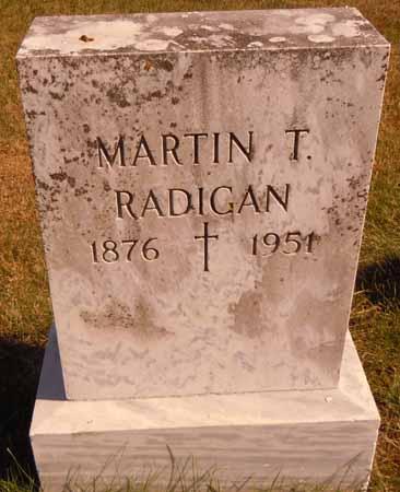 RADIGAN, MARTIN T. - Dallas County, Iowa   MARTIN T. RADIGAN