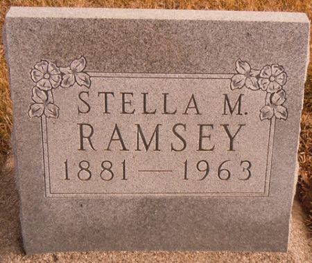 RAMSEY, STELLA M. - Dallas County, Iowa   STELLA M. RAMSEY
