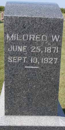 RANDELL, MILDRED W - Dallas County, Iowa | MILDRED W RANDELL