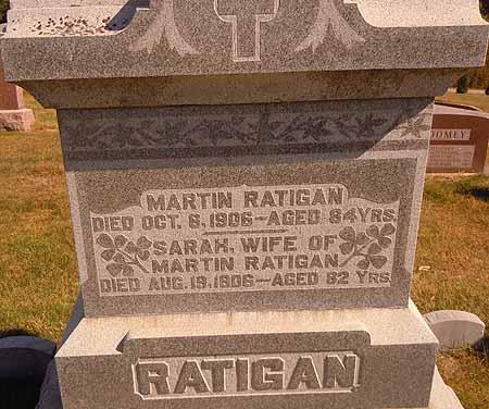 RATIGAN, MARTIN - Dallas County, Iowa   MARTIN RATIGAN