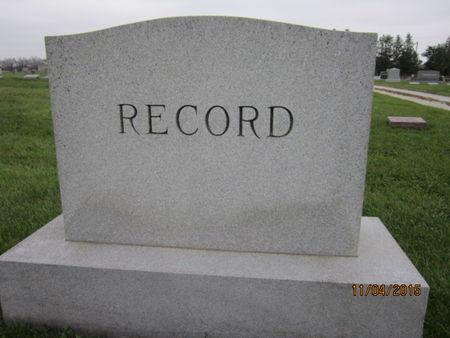 RECORD, FAMILY STONE - Dallas County, Iowa | FAMILY STONE RECORD