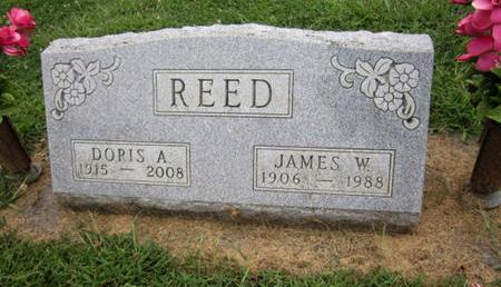 REED, DORIS A - Dallas County, Iowa | DORIS A REED