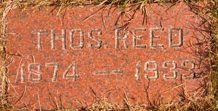 REED, THOS. - Dallas County, Iowa | THOS. REED