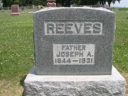 REEVES, JOSEPH A. - Dallas County, Iowa   JOSEPH A. REEVES