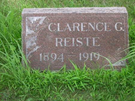 REISTE, CLARENCE G. - Dallas County, Iowa | CLARENCE G. REISTE