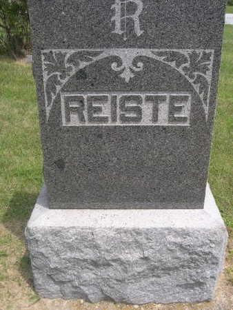 REISTE, FAMILY - Dallas County, Iowa | FAMILY REISTE