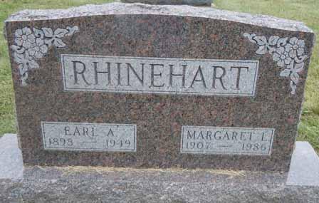 RHINEHART, EARL A - Dallas County, Iowa   EARL A RHINEHART