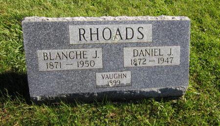 RHOADS, DANIEL J - Dallas County, Iowa   DANIEL J RHOADS
