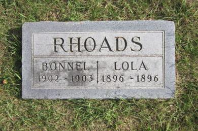 RHOADS, LOLA - Dallas County, Iowa | LOLA RHOADS