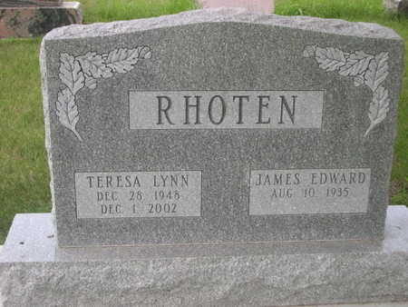 RHOTEN, JAMES EDWARD - Dallas County, Iowa | JAMES EDWARD RHOTEN