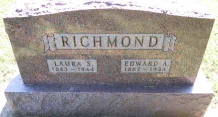 RICHMOND, EDWARD A - Dallas County, Iowa | EDWARD A RICHMOND