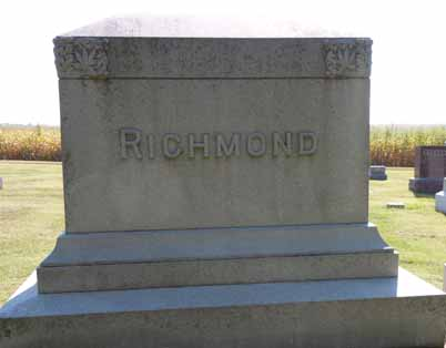 RICHMOND, FAMILY STONE - Dallas County, Iowa | FAMILY STONE RICHMOND