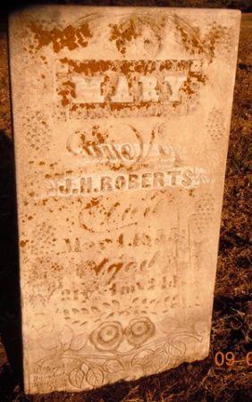 ROBERTS, MARY - Dallas County, Iowa | MARY ROBERTS